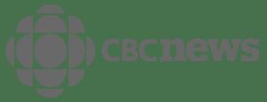 CBC News Logo - greyscale