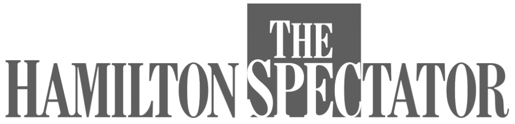 The Hamilton Spectator logo - greyscale