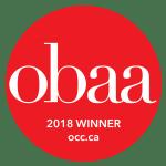 obaa 2018 Winner - occ.ca