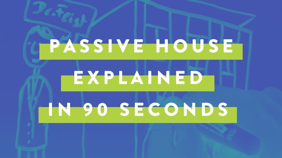 Passive house explained